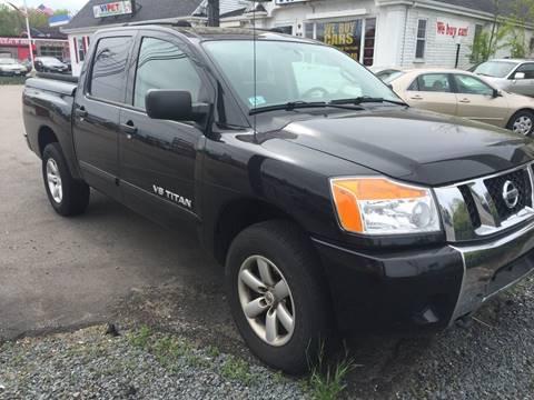 2012 Nissan Titan for sale at BORGES AUTO CENTER, INC. in Taunton MA