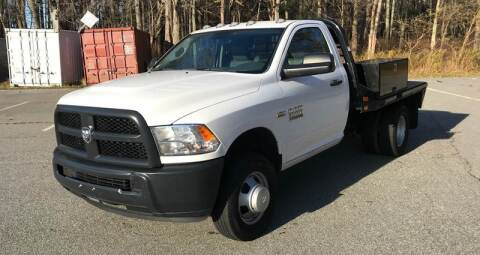 2016 RAM Ram Chassis 3500 for sale at BORGES AUTO CENTER, INC. in Taunton MA
