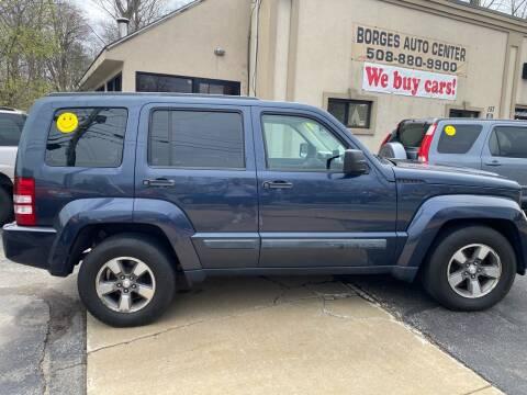 2008 Jeep Liberty for sale at BORGES AUTO CENTER, INC. in Taunton MA