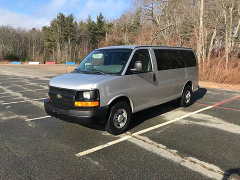 2011 Chevrolet Express Passenger for sale at BORGES AUTO CENTER, INC. in Taunton MA