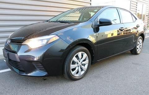 2014 Toyota Corolla for sale at BORGES AUTO CENTER, INC. in Taunton MA