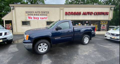2012 GMC Sierra 1500 for sale at BORGES AUTO CENTER, INC. in Taunton MA