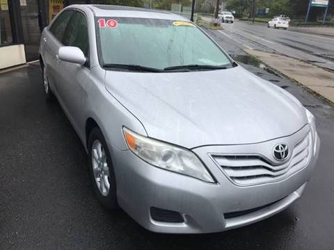 2010 Toyota Camry for sale at BORGES AUTO CENTER, INC. in Taunton MA