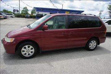 2004 Honda Odyssey for sale at GLOBAL MOTOR GROUP in Newark NJ