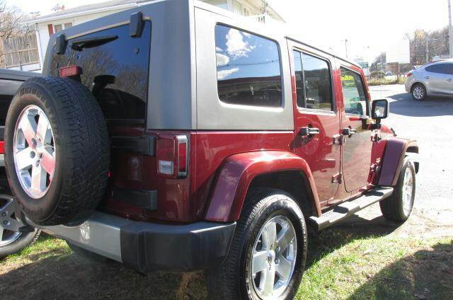 2009 Jeep Wrangler Unlimited for sale at GLOBAL MOTOR GROUP in Newark NJ