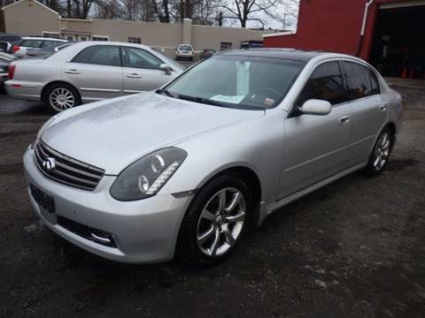 2006 Infiniti G35 for sale at GLOBAL MOTOR GROUP in Newark NJ