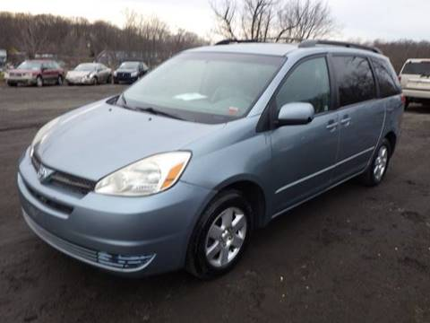 2004 Toyota Sienna for sale at GLOBAL MOTOR GROUP in Newark NJ