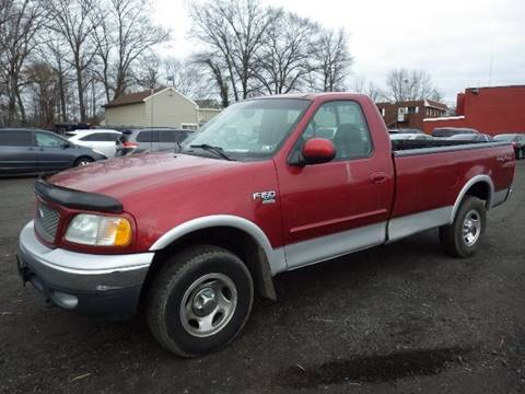 2001 Ford F-150 for sale at GLOBAL MOTOR GROUP in Newark NJ