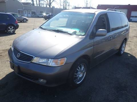 2000 Honda Odyssey for sale at GLOBAL MOTOR GROUP in Newark NJ