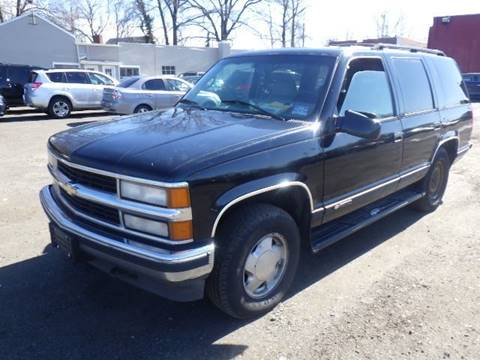 1995 Chevrolet Tahoe for sale at GLOBAL MOTOR GROUP in Newark NJ