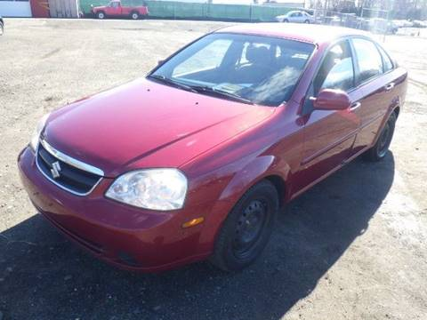 2007 Suzuki Forenza for sale at GLOBAL MOTOR GROUP in Newark NJ