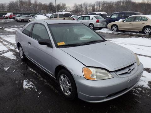 2001 Honda Civic for sale at GLOBAL MOTOR GROUP in Newark NJ