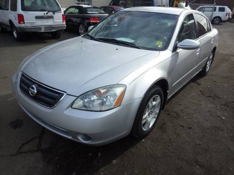 2004 Nissan Altima for sale at GLOBAL MOTOR GROUP in Newark NJ