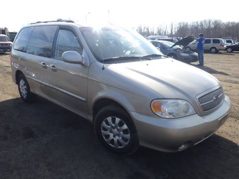 2005 Kia Sedona for sale at GLOBAL MOTOR GROUP in Newark NJ