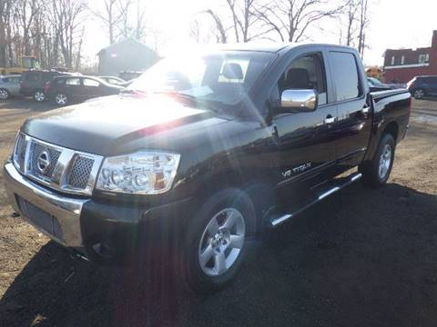2005 Nissan Titan for sale at GLOBAL MOTOR GROUP in Newark NJ