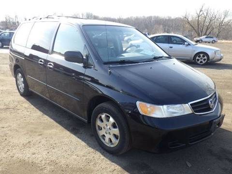 2003 Honda Odyssey for sale at GLOBAL MOTOR GROUP in Newark NJ