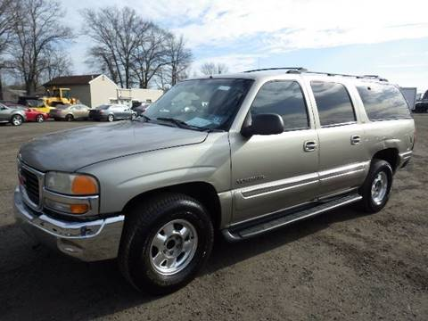 2001 GMC Yukon XL for sale at GLOBAL MOTOR GROUP in Newark NJ