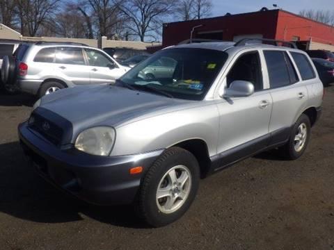 2003 Hyundai Santa Fe for sale at GLOBAL MOTOR GROUP in Newark NJ