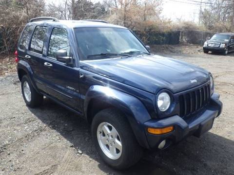 2002 Jeep Liberty for sale at GLOBAL MOTOR GROUP in Newark NJ
