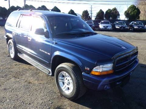2001 Dodge Durango for sale at GLOBAL MOTOR GROUP in Newark NJ