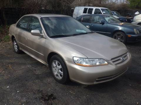 2002 Honda Accord for sale at GLOBAL MOTOR GROUP in Newark NJ