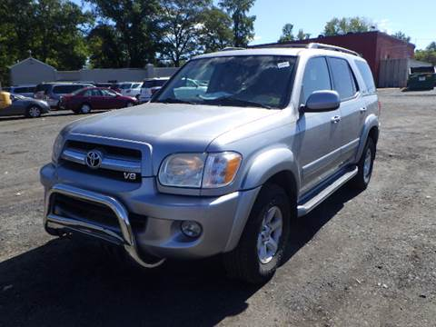 2005 Toyota Sequoia for sale at GLOBAL MOTOR GROUP in Newark NJ