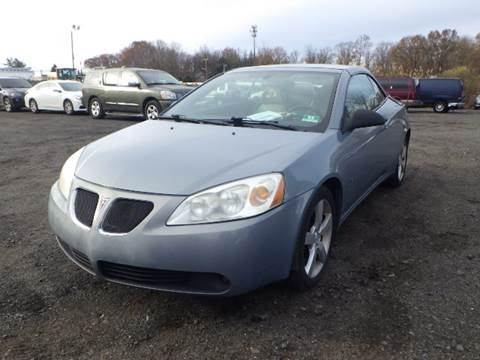 2007 Pontiac G6 for sale at GLOBAL MOTOR GROUP in Newark NJ