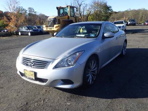 2008 Infiniti G37 for sale at GLOBAL MOTOR GROUP in Newark NJ