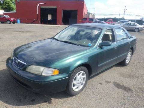 1999 Mazda 626 for sale at GLOBAL MOTOR GROUP in Newark NJ