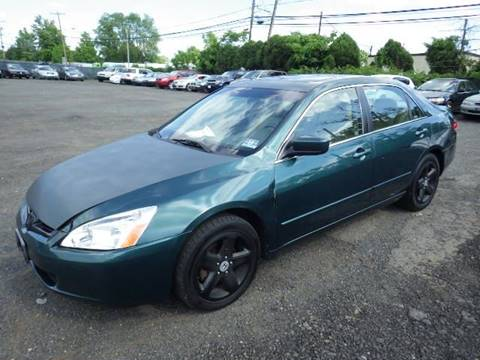 2003 Honda Accord for sale at GLOBAL MOTOR GROUP in Newark NJ
