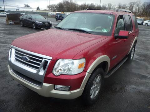 2008 Ford Explorer for sale at GLOBAL MOTOR GROUP in Newark NJ