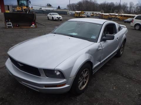 2005 Ford Mustang V6 Deluxe for sale at GLOBAL MOTOR GROUP in Newark NJ