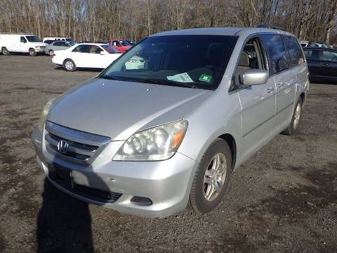 2005 Honda Odyssey for sale at GLOBAL MOTOR GROUP in Newark NJ