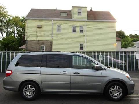 2006 Honda Odyssey for sale at GLOBAL MOTOR GROUP in Newark NJ