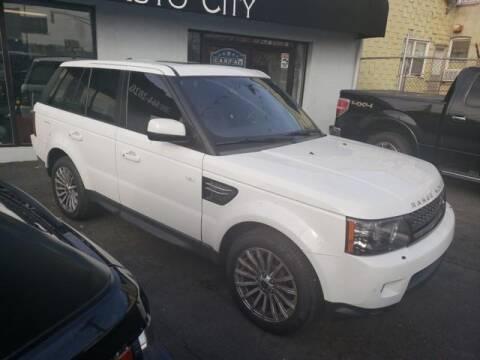 2013 Land Rover Range Rover Sport for sale at GLOBAL MOTOR GROUP in Newark NJ