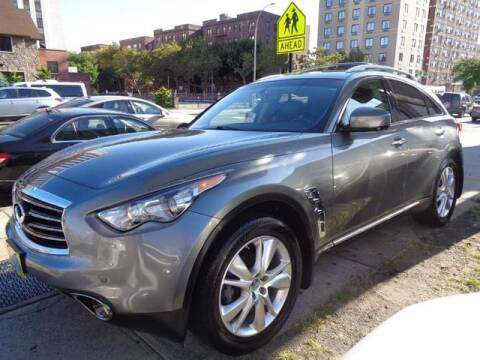 2012 Infiniti FX35 for sale at GLOBAL MOTOR GROUP in Newark NJ