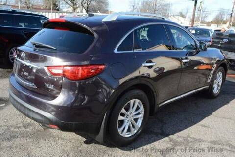 2010 Infiniti FX35 for sale at GLOBAL MOTOR GROUP in Newark NJ