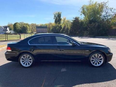 2007 BMW 7 Series for sale at GLOBAL MOTOR GROUP in Newark NJ