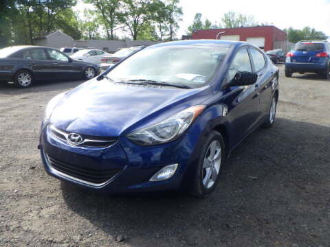 2013 Hyundai Elantra for sale at GLOBAL MOTOR GROUP in Newark NJ