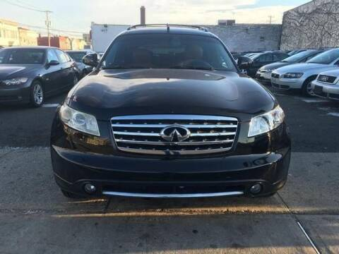 2006 Infiniti FX35 for sale at GLOBAL MOTOR GROUP in Newark NJ