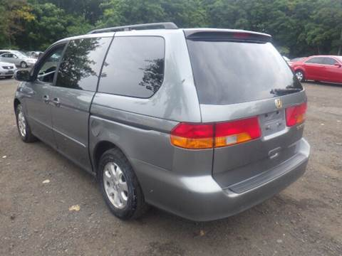 2002 Honda Odyssey for sale at GLOBAL MOTOR GROUP in Newark NJ