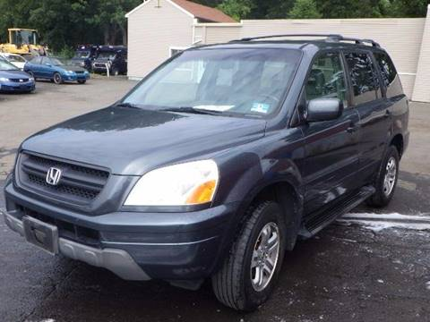 2003 Honda Pilot for sale at GLOBAL MOTOR GROUP in Newark NJ