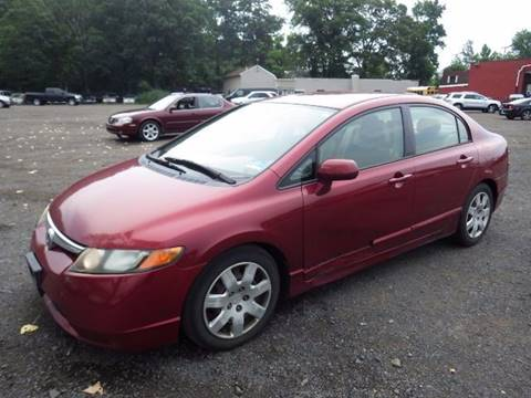 2006 Honda Civic for sale at GLOBAL MOTOR GROUP in Newark NJ