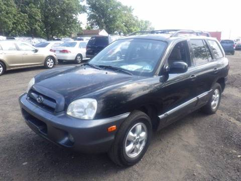 2005 Hyundai Santa Fe for sale at GLOBAL MOTOR GROUP in Newark NJ
