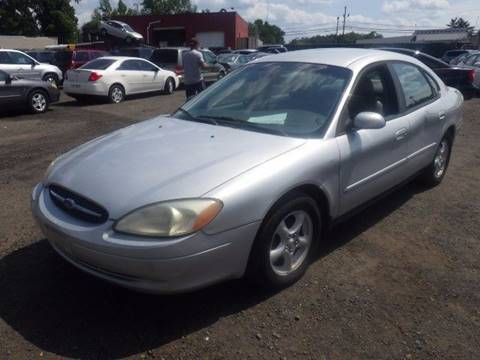 2002 Ford Taurus for sale at GLOBAL MOTOR GROUP in Newark NJ