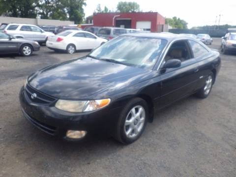 2001 Toyota Camry Solara for sale at GLOBAL MOTOR GROUP in Newark NJ