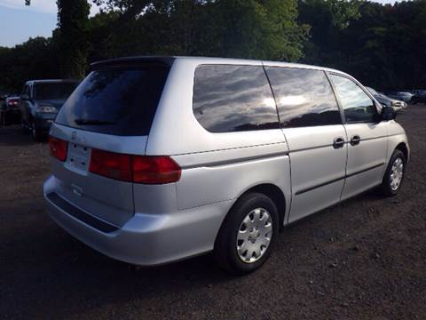 2001 Honda Odyssey for sale at GLOBAL MOTOR GROUP in Newark NJ