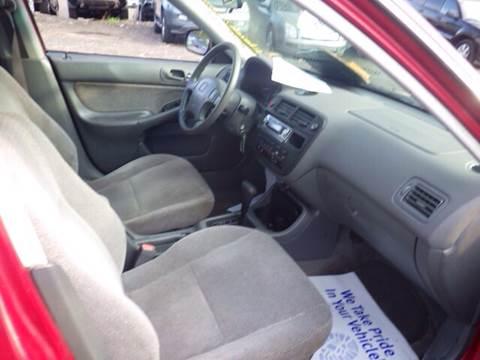 1997 Honda Civic for sale at GLOBAL MOTOR GROUP in Newark NJ