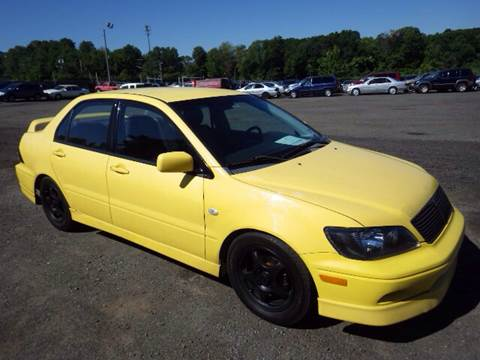 2002 Mitsubishi Lancer for sale at GLOBAL MOTOR GROUP in Newark NJ
