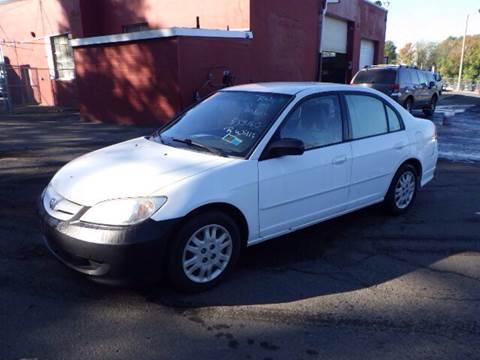 2005 Honda Civic for sale at GLOBAL MOTOR GROUP in Newark NJ